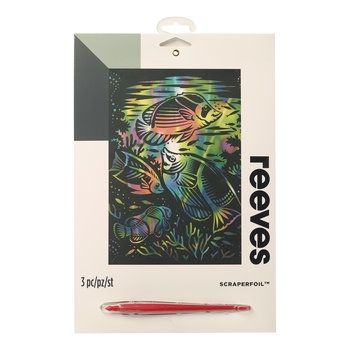 Reeves Rainbow Fish Scraperfoil