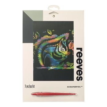Reeves Rainbow Squirrel Scraperfoil