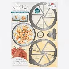 Angela Poole Magic Windows Slide & Reveal Die Set – Circle