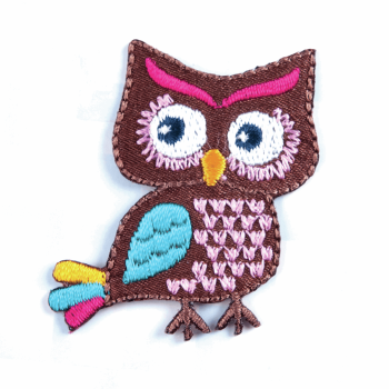 Colourful Owl Motif