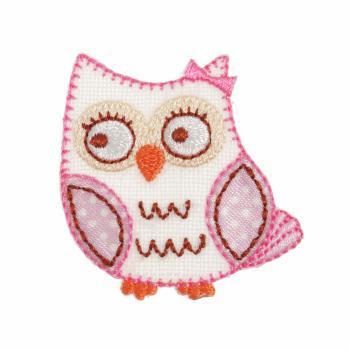 Pink Owl Motif