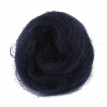 Trimits Natural Wool Roving 10g Navy