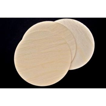 Birch Plaque 125mm - 5inch - pack of 3