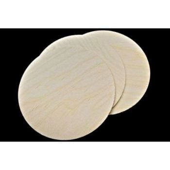 Birch Plaque 175mm - 7inch - Pack of 3