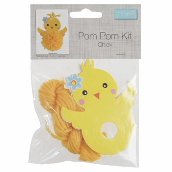 Pom Pom Decoration Kit - Chick