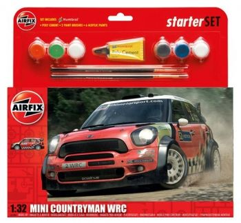 AIRFIX A55304 MINI COUNTRYMAN LARGE STARTER SET