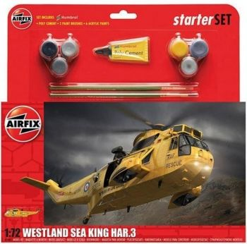 AIRFIX A55307 WESTLAND SEA KING LARGE STARTER SET