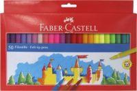 Faber Castell 50 Fibre Tipped Pens