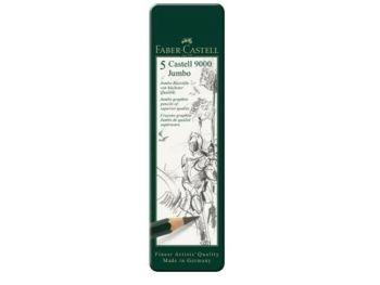 Castell 9000 Jumbo Pencil Tin 5