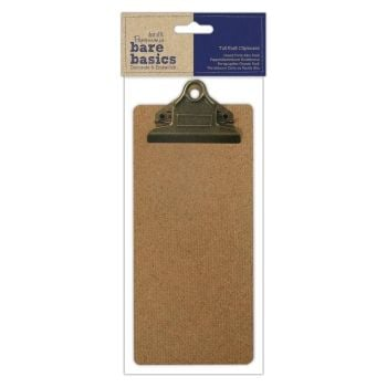Papermania Tall Kraft Clipboard