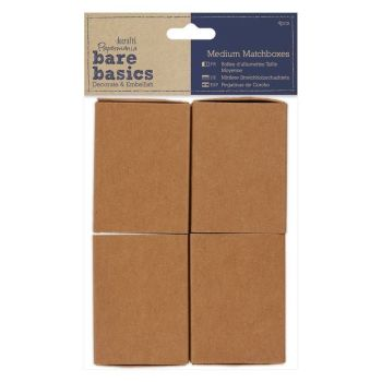 Papermania Bare Basics Medium Matchboxes