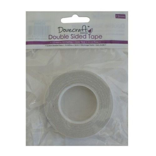Dovecraft Double Sided Tape 12mm