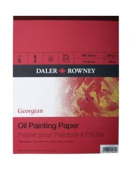 """Daler Rowney Georgian Oil Pad 16"""" X 12"""""""
