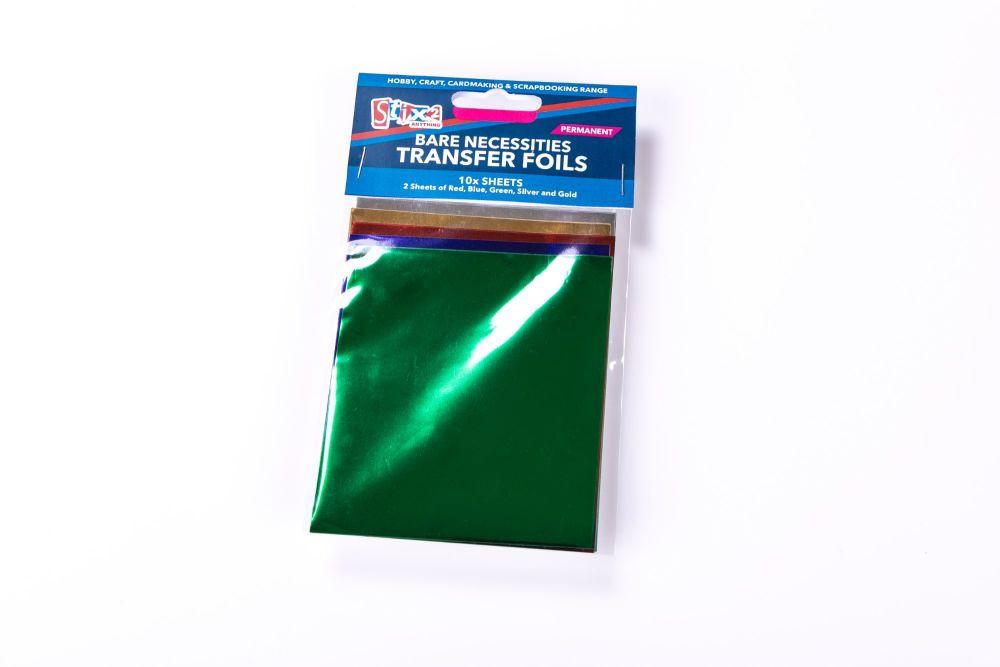 Bare Necessities transfer foils