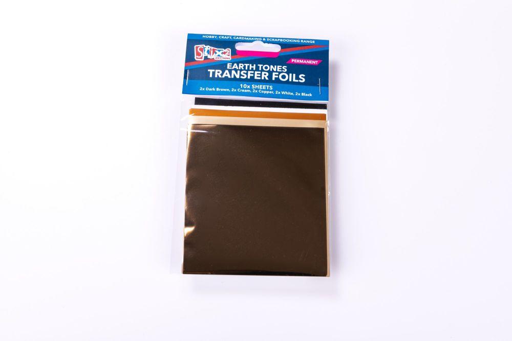 Earth Tones Transfer Foil