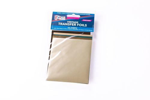Vintage Tones Transfer Foils