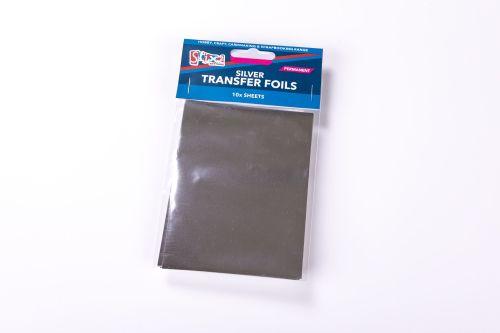 All Silver Transfer Foils