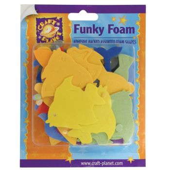 Funky Foam Assorted Pack (Self Adhesive) - Dolphins & Fish