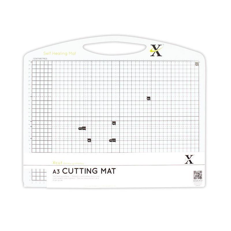 A3 Self Healing Duo Cutting Mat - Black & White