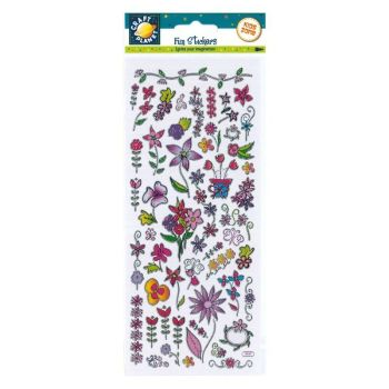 Fun Stickers - Flowers