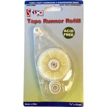 Tape Runner Refill - 8mm x 25mm