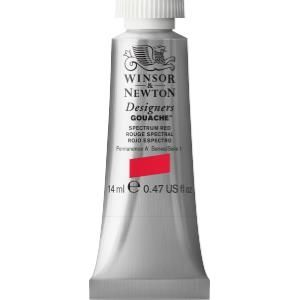 Winsor and Newton Designers Gouache 14ml - Spectrum Red