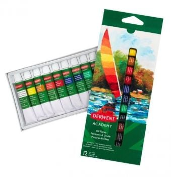 Academy Oil Paints 12x12ml