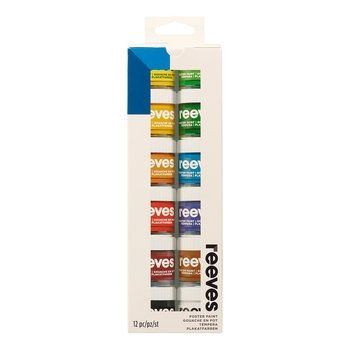 Reeves Poster Colour Set - 12X22ml