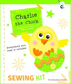 Charlie the Chick Easter Sewing Kit