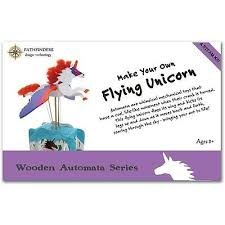 Flying Unicorn Wooden Kit