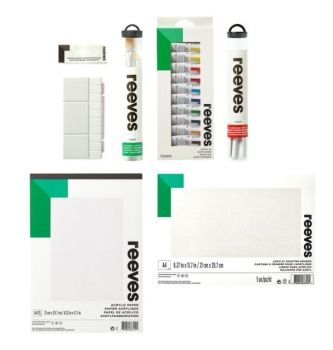 REEVES ACRYLIC SUPER SET 78080486 4427