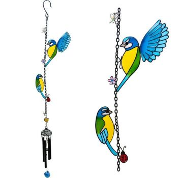 Twin Bird Windchime