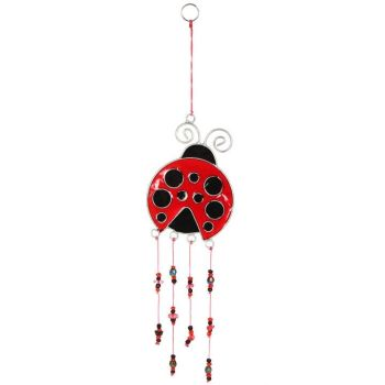 Ladybird Dangle Suncatcher