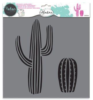 Izink Textile Stencil - Cactus