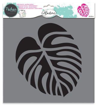 Izink Textile Stencil - Tropical Leaf