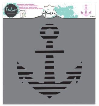 Izink Textile Stencil - Anchor