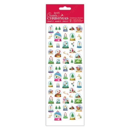Christmas Stickers - Snow Globes