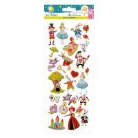 Fun Stickers - Alice in Wonderland
