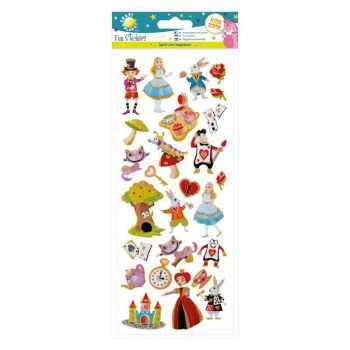 Fun Stickers - Alice in Wonderland