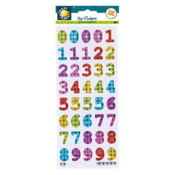 Fun Stickers - Bold Reflective Numbers