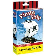 Creativity for Kids Pirate Ship Craft Kit