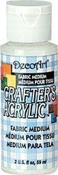 Deco Art Fabric Medium 59ml Crafters Acrylic
