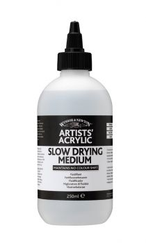 Winsor and Newton Acrylic Slow Drying Medium 250ml