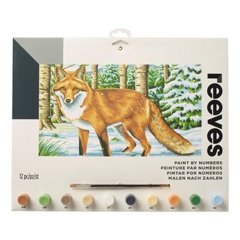 Reeves European Fox Large Paint by Numbers