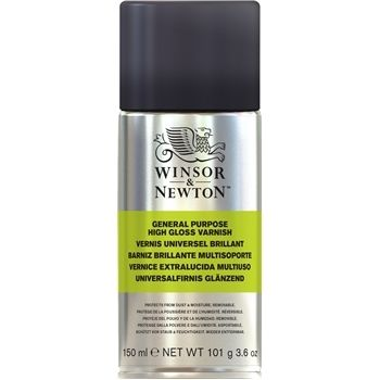 Winsor and Newton All Purpose Varnish 150ml High Gloss Spray