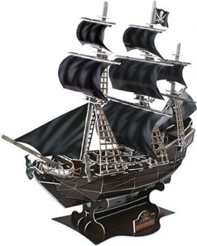 3D BLACKBEARDS PIRATE SHIP PUZZLE