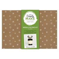 Needle Felting Kit - Simply Make - Panda