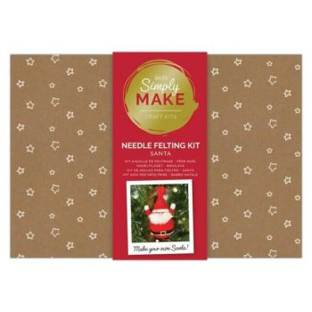 Needle Felting Kit - Simply Make - Santa