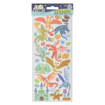 Fun Stickers - Dragon Castle