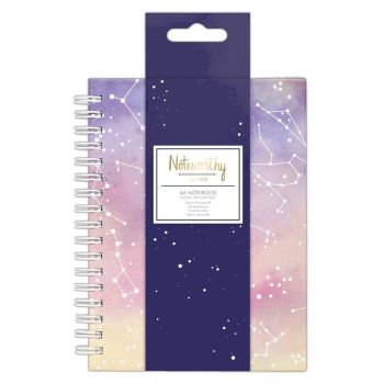 Noteworthy Constellations A6 Notebook